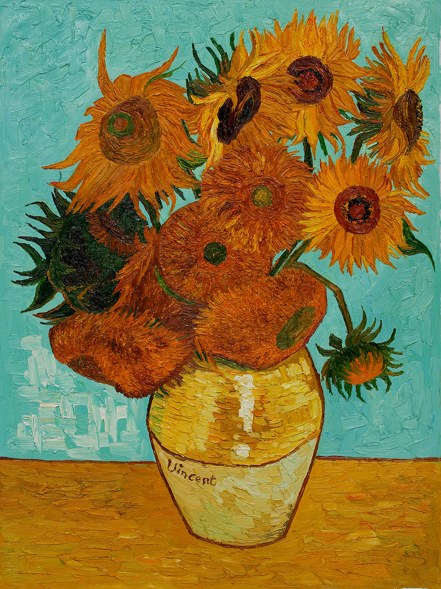 About Me Vincent Van Gogh Doctor Who Sunflowers